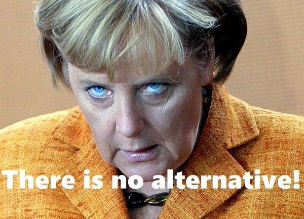 Merkel TINA