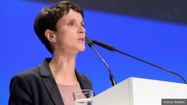 migrants économie allemande frauke petry